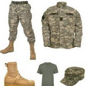 kariniai rubai